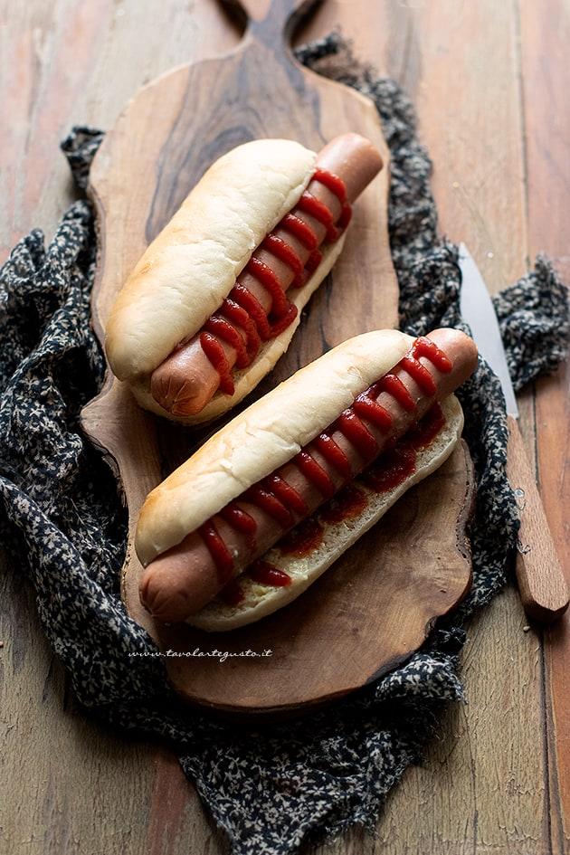 Hot dog - Ricetta Hot dog-