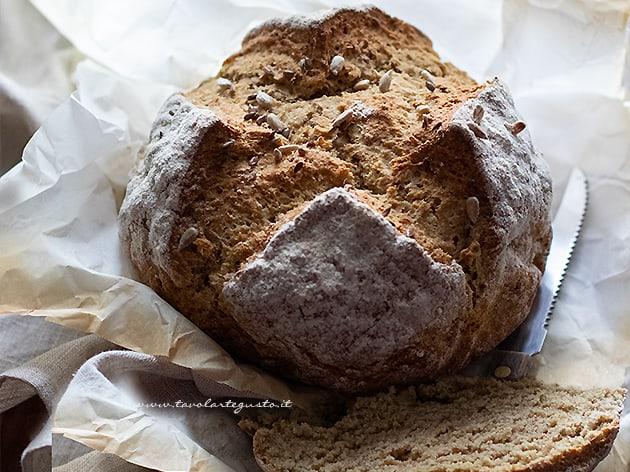 Soda bread - Pane con bicarbonato - Pane irlandese
