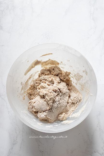 impastare - Ricetta Soda Bread