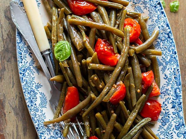 Fagiolini in umido- Ricetta Fagiolini in umido al pomodoro