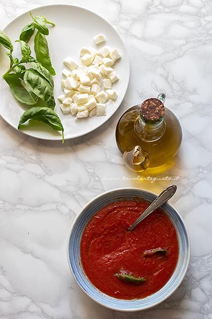 condimento per la pizza margherita - Ricetta Pizza napoletana