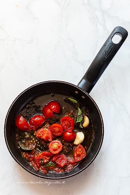 sughetto al pomodoro - Ricetta Fagiolini in umido