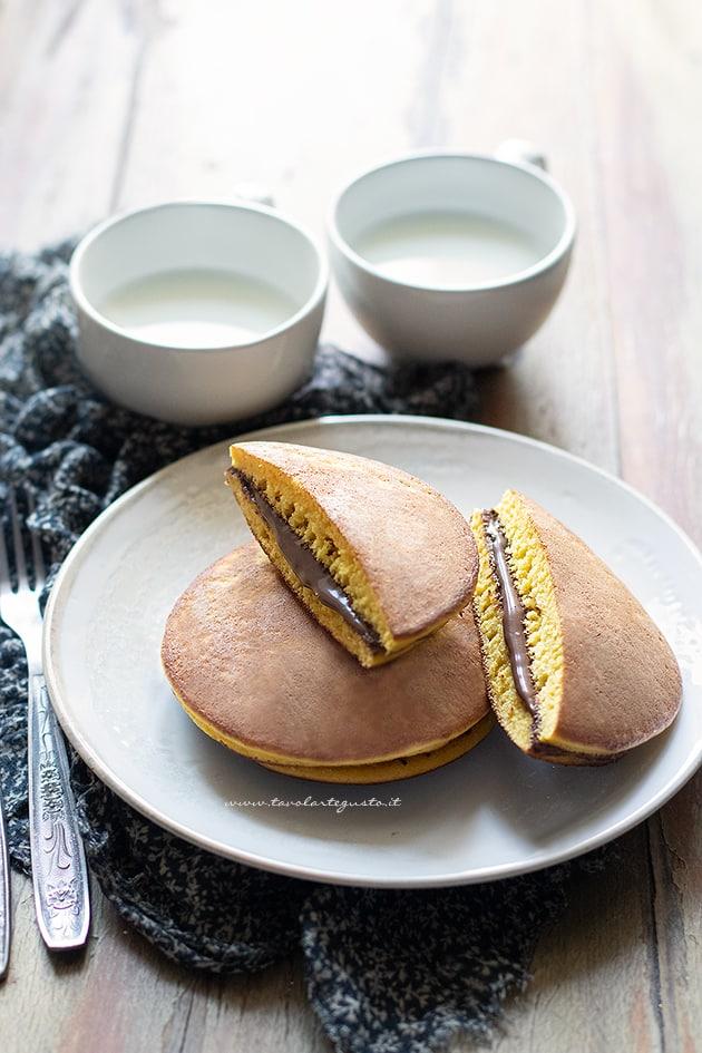 Dorayaki - Ricetta Dorayaki-