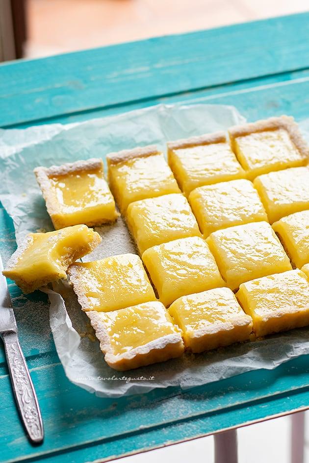 Lemon Tart - Ricetta Lemon tart (Crostata con lemon curd)-