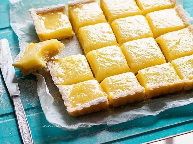 Lemon Tart - Ricetta Lemon tart (Crostata con lemon curd)