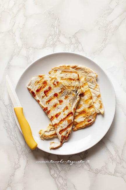 Pollo grigliato - Ricetta Insalata di pollo