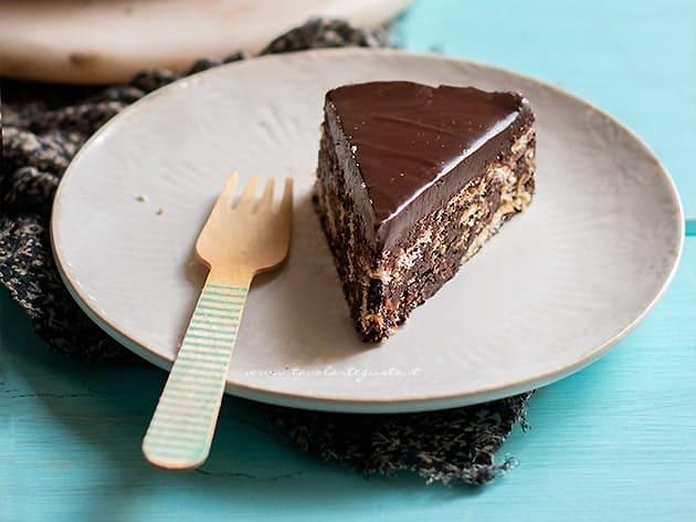 Torta fredda - Torta senza cottura - Ricetta Torta fredda