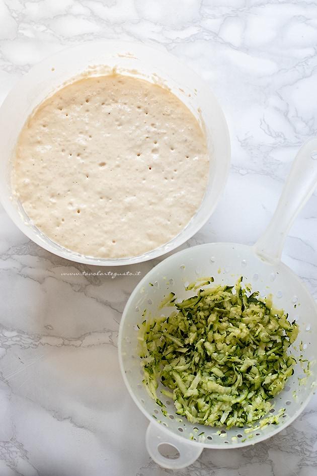 come fare la pastella per zucchine - Ricetta Frittelle di zucchine