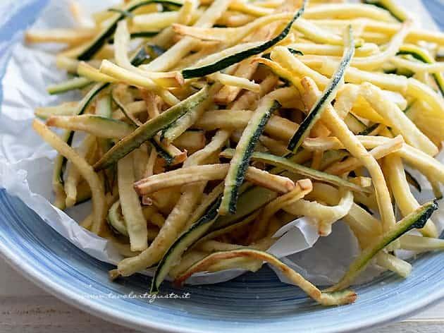 Zucchine fritte - Ricetta Zucchine fritte