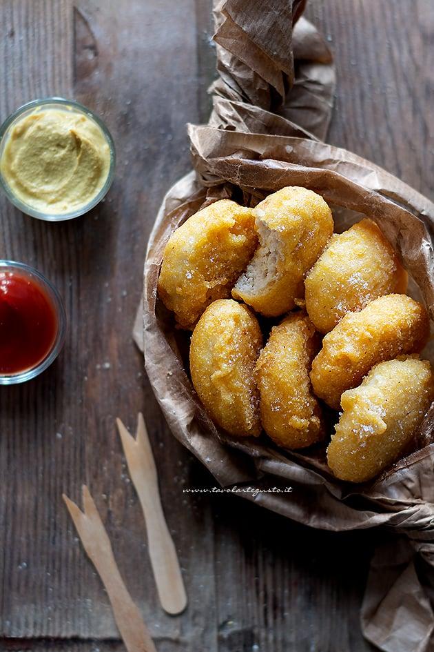 Nuggets - Crocchette di pollo - Ricetta Nuggets di pollo-