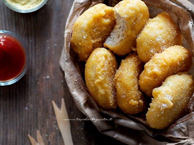 Nuggets - Crocchette di pollo - Ricetta Nuggets di pollo