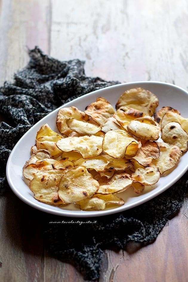 Patate grigliate - Ricetta Patate grigliate-