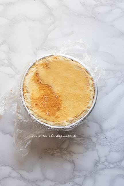 Richiudere lo zuccotto -Ricetta Zuccotto gelato