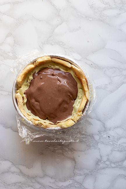 aggiungere il cioccolato- Ricetta Zuccotto gelato