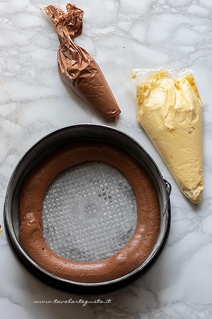 come fare la torta variegata