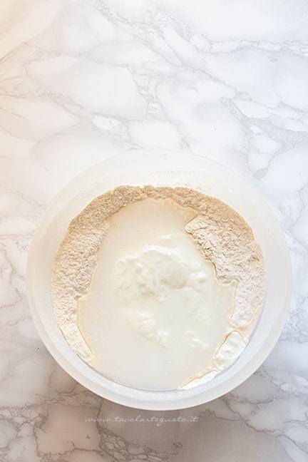 impasto naan con yogurt - Ricetta pane naan