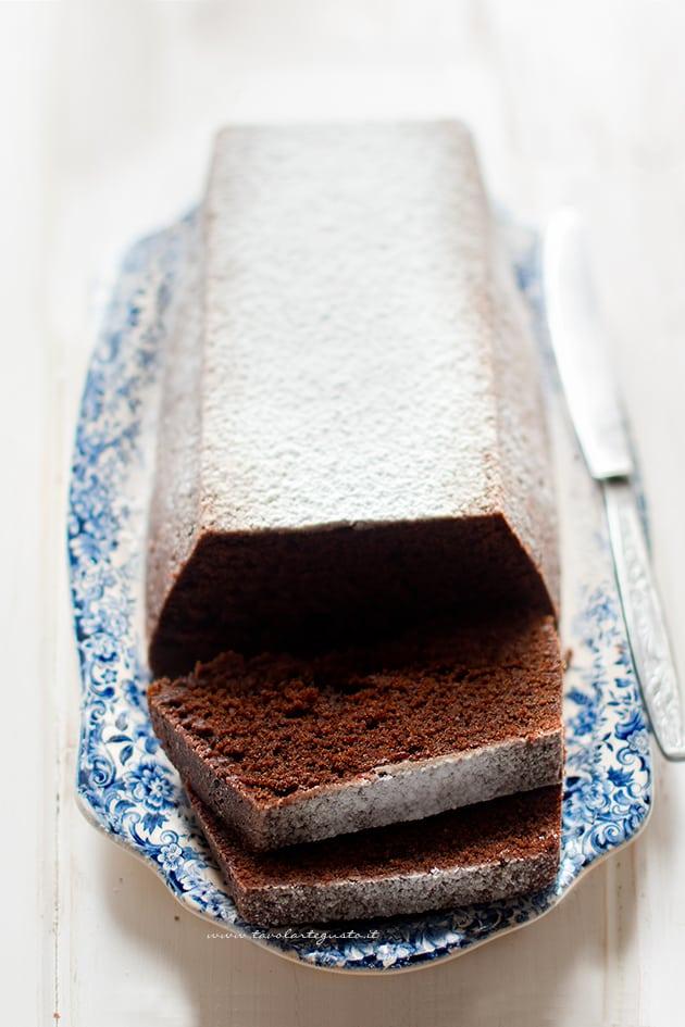 Plumcake al cioccolato - Ricetta Plumcake al cioccolato