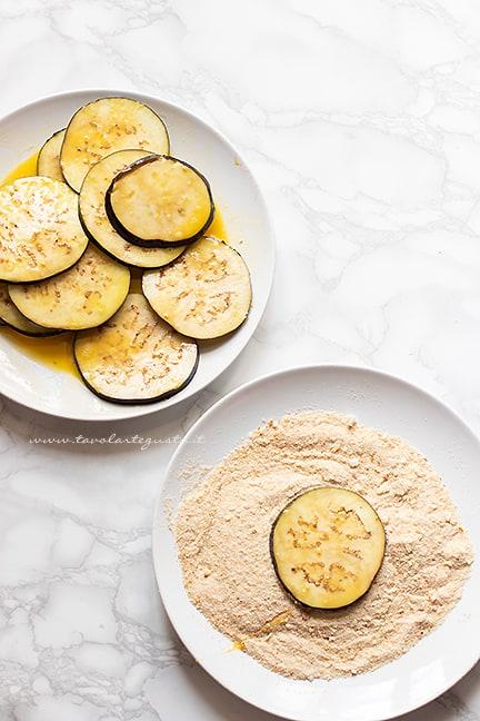 come fare le cotolette di melanzane