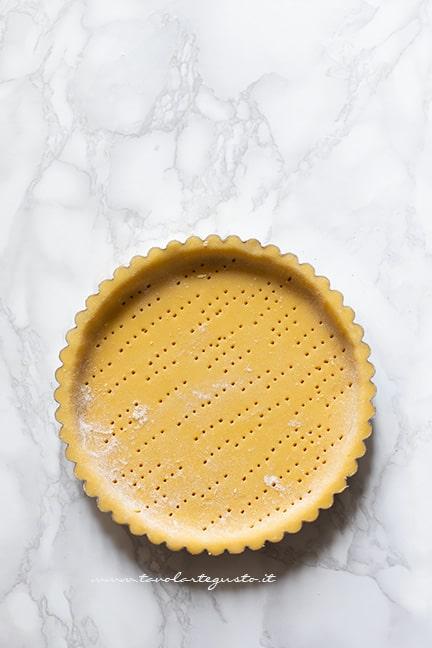 guscio di pasta frolla - Ricetta Crostata di mele