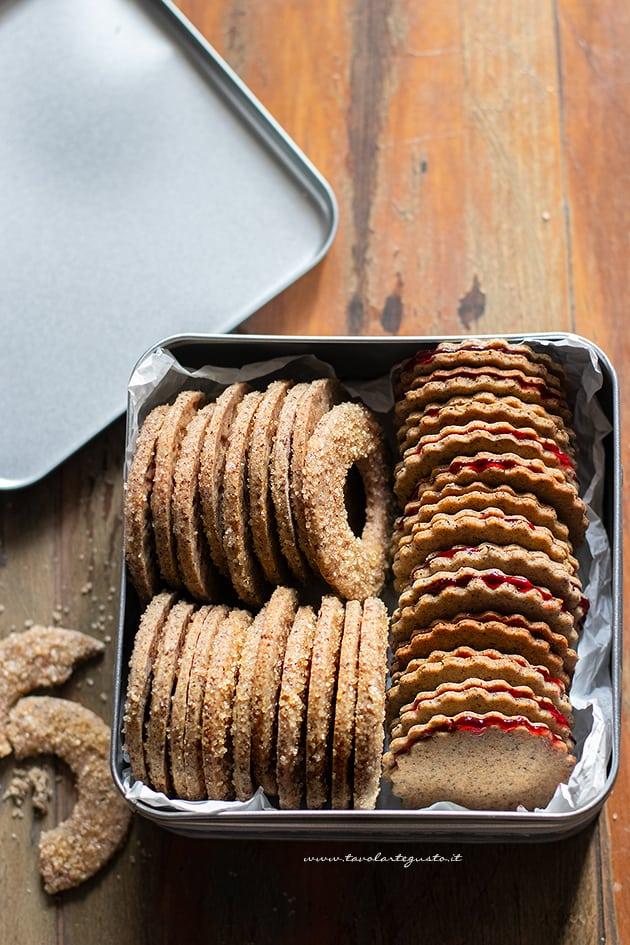 Biscotti di grano saraceno-