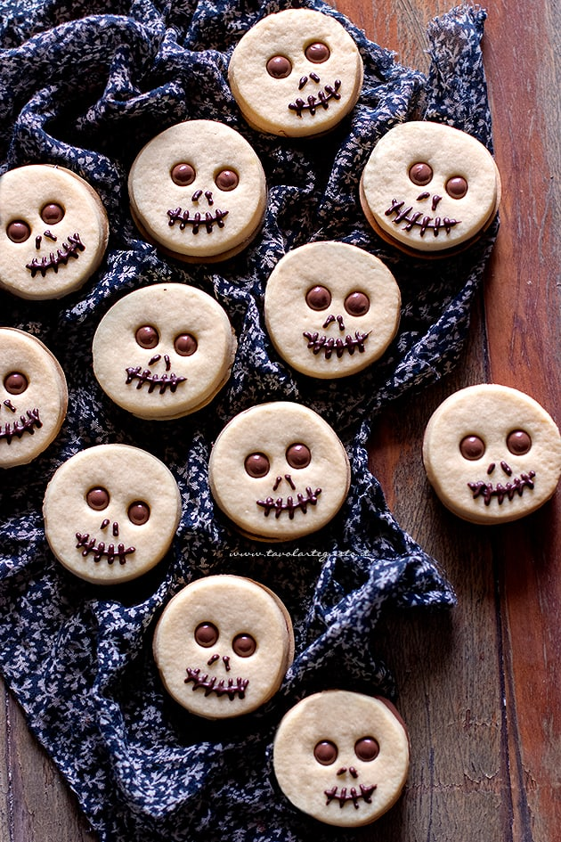 Biscotti di halloween veloci e facili-