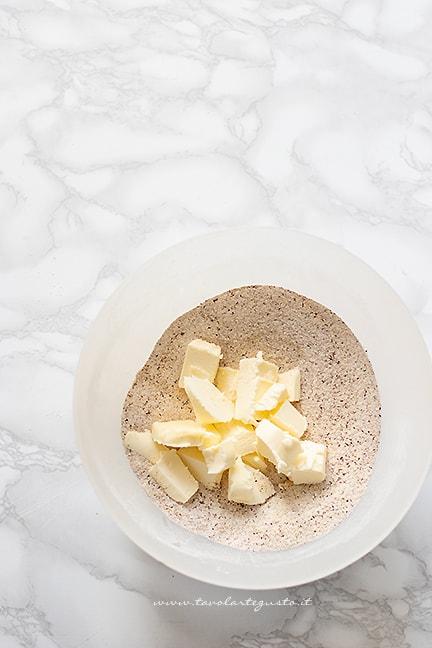 impasto per biscotti grano saraceno