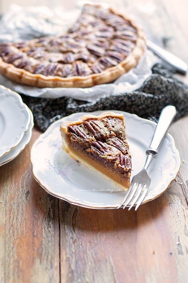 Pecan pie (Crostata di noci americana)-