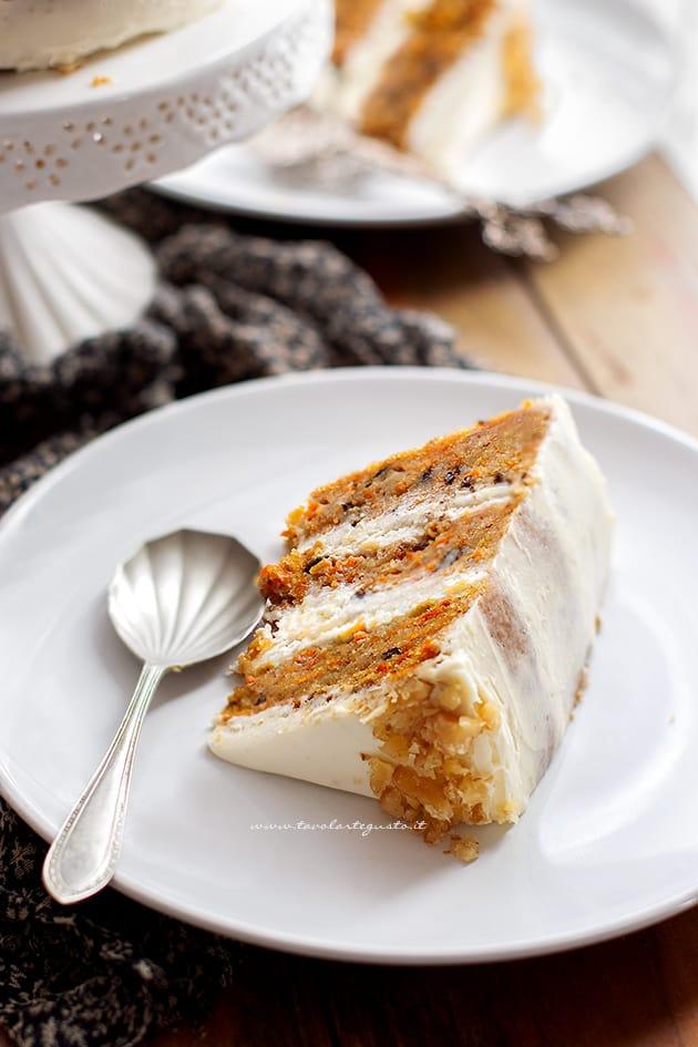 Ricetta Carrot cake-