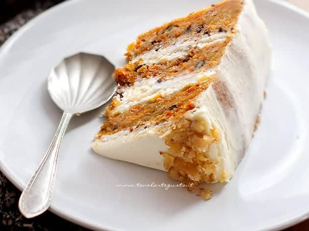 Ricetta Carrot cake