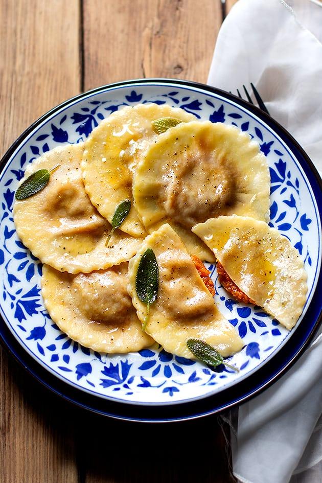 Tortelli di zucca (Ravioli di zucca)-