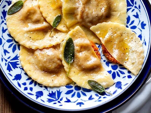 Tortelli di zucca (Ravioli di zucca)