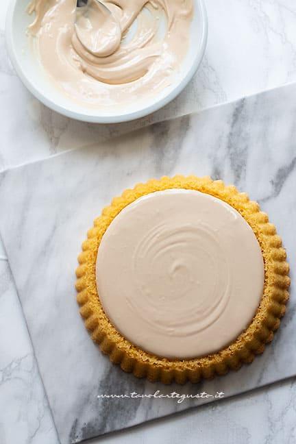 farcire con la crema kinder bueno - Ricetta Torta Kinder Bueno