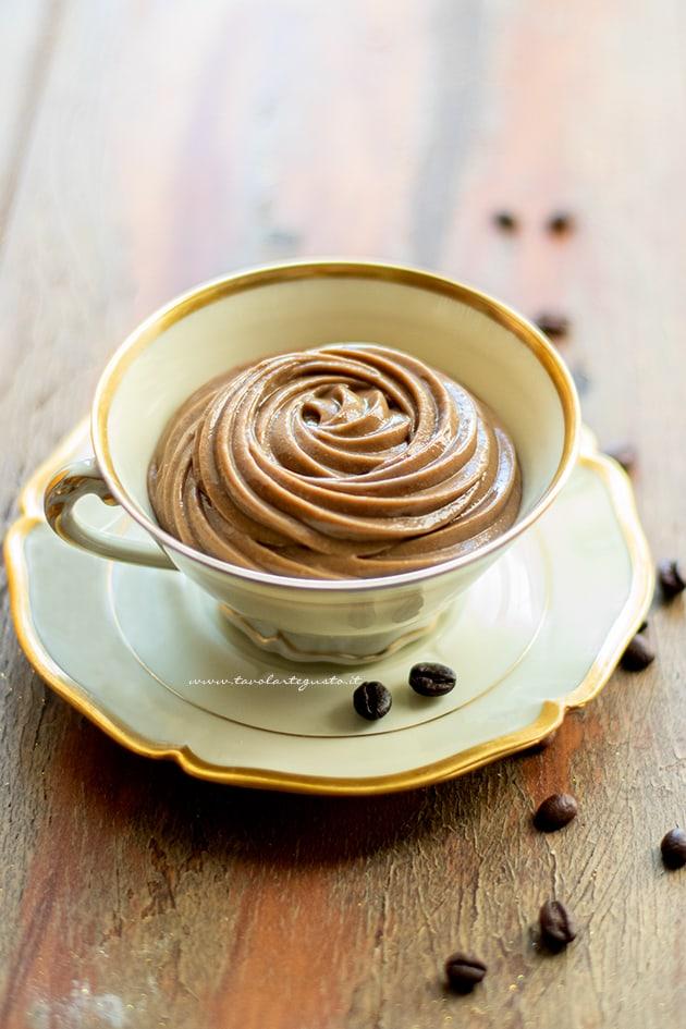 Crema pasticcera al caffè-