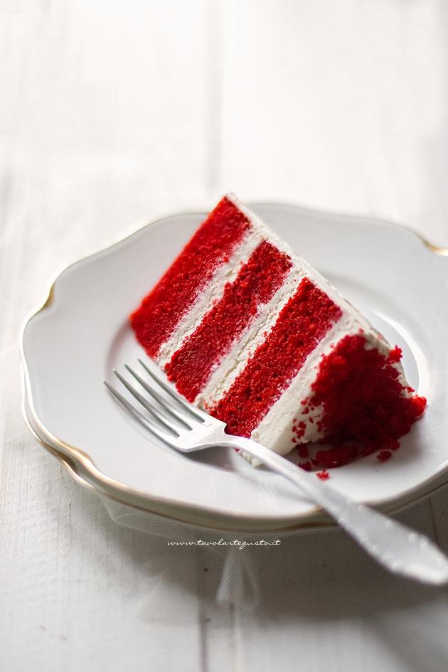 Red Velvet - Ricetta Red velvet cake-