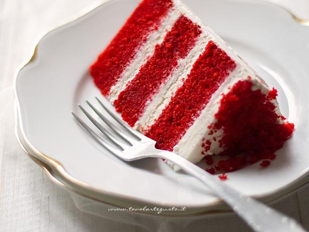 Red velvet - Torta Red Velvet - Ricetta Red velvet cake