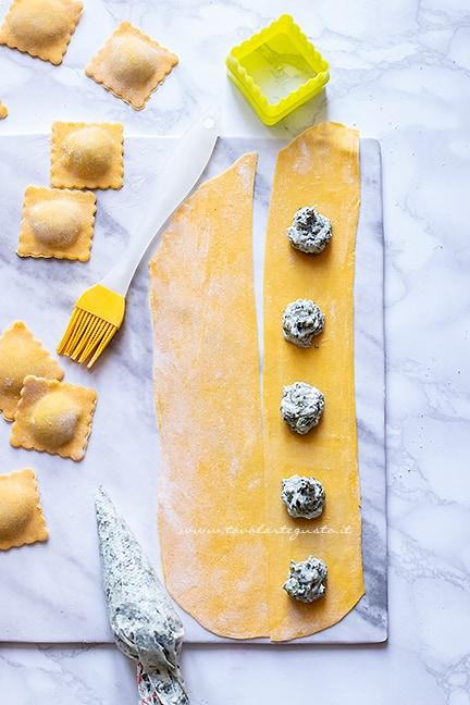 come fare i ravioli 1 - Ricetta Ravioli ricotta e spinaci
