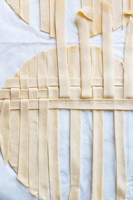 come fare la crosta intrecciata