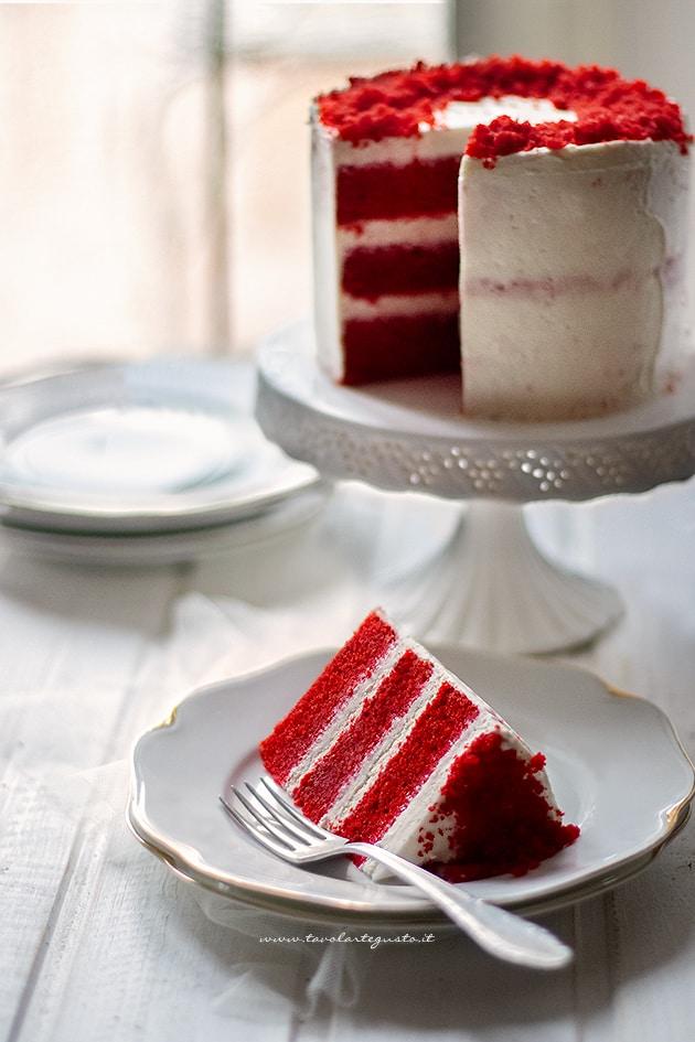 red velvet - torta red velvet