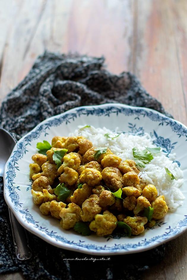 Cavolfiore al curry - Ricetta Cavolfiore al curry-