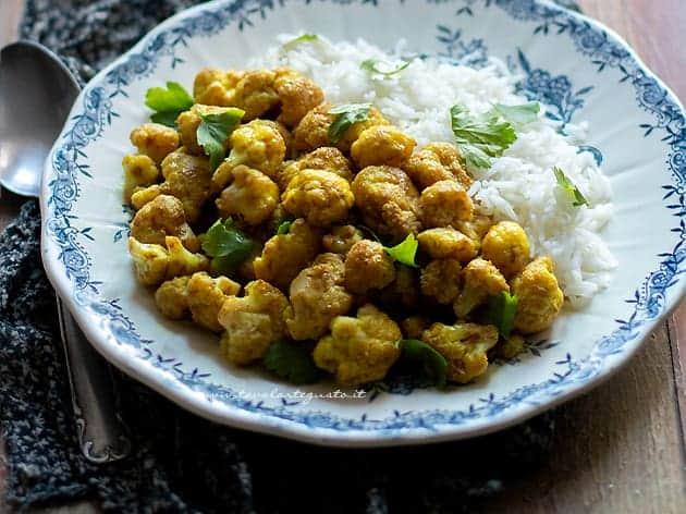 Cavolfiore al curry - Ricetta Cavolfiore al curry
