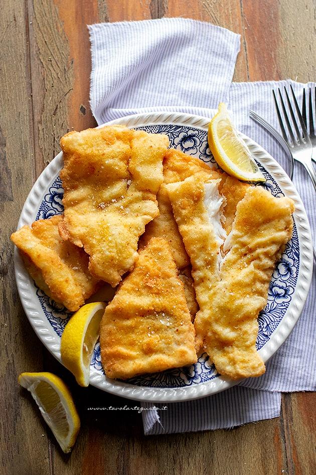 Cotolette di pesce-