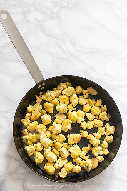 come fare il cavolfiore al curry