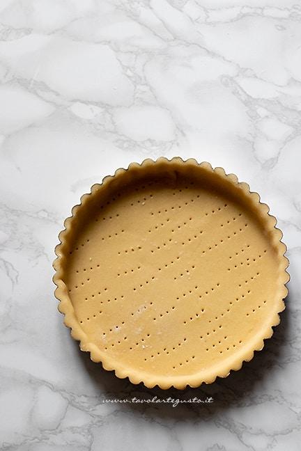 come fare il guscio di pasta frolla - Ricetta crostata al pistacchio