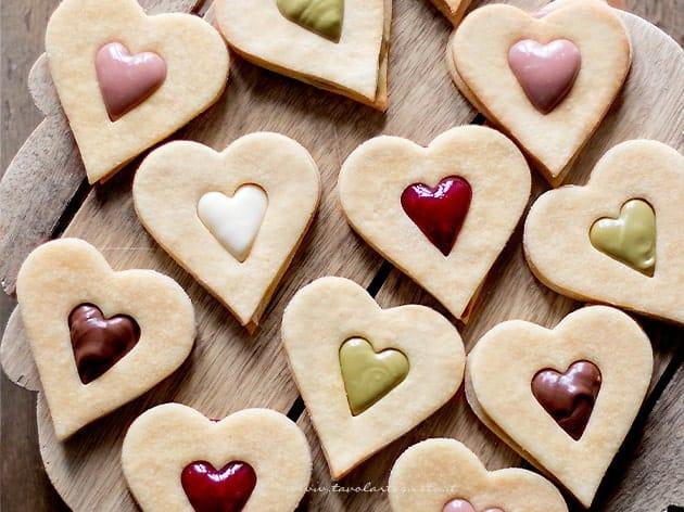 Biscotti di San Valentino - Ricetta Biscotti San Valentino