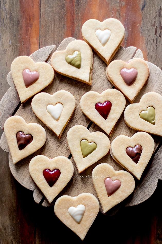 Biscotti san valentino- Ricetta biscotti di san valentino