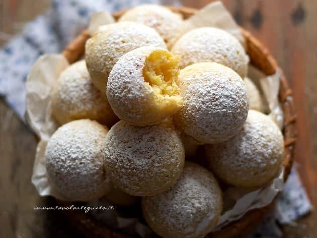 Frittelle al forno - Ricetta Frittelle al forno