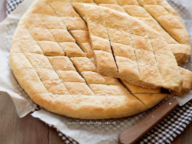Pizza scima - Ricetta Pizza scima