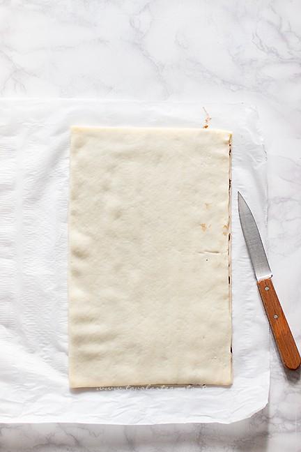ripiegare la pasta - torciglioni alla nutella