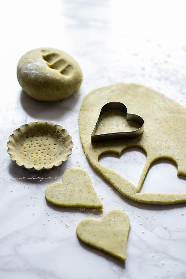 Pasta frolla al pistacchio-