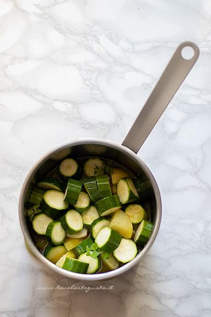 come fare la vellutata di zucchine